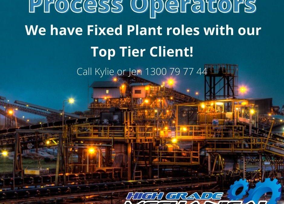 Process Operator | FIFO 2:1 | WA
