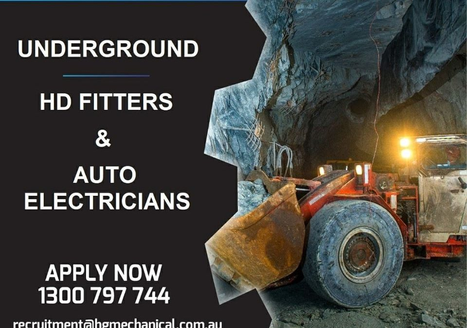 Auto Electrician Underground FIFO – 2:2 Rosters